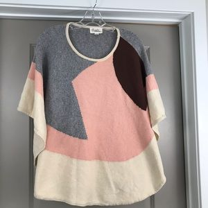 Forever 21 poncho sweater